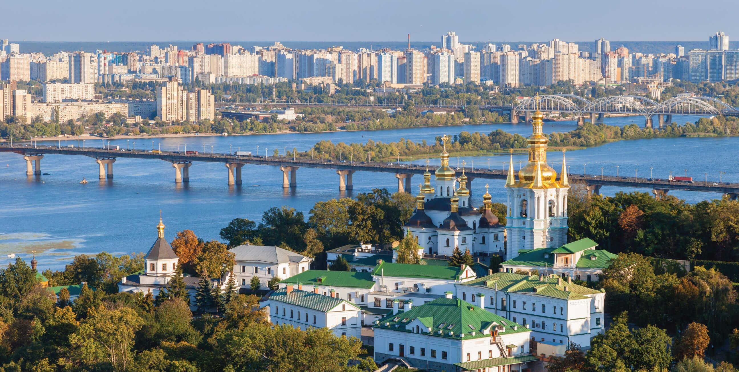 Os encantos de Kiev